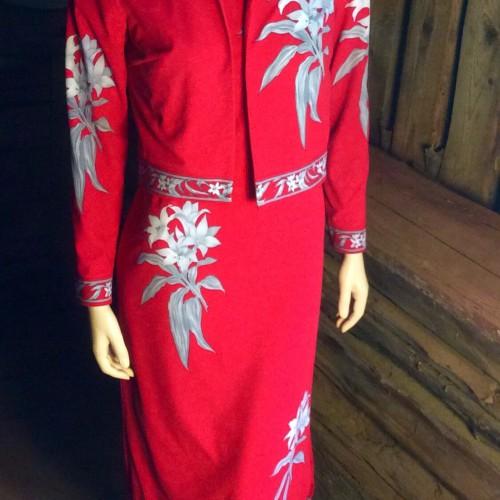 Ärmlös klänning midjeblus
