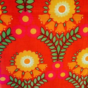 Flower power vintagebyxa