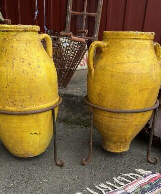 Medelhavskrus urna keramik vintage